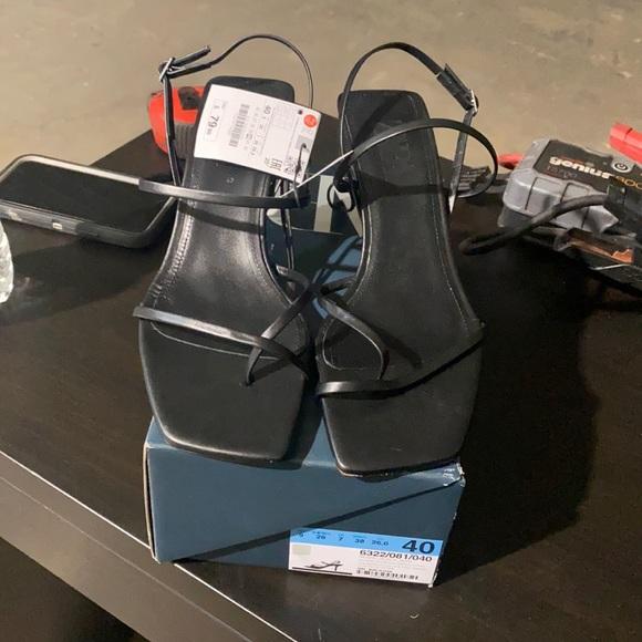 Sandals from Zara